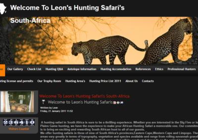 leonshuntingsafaris.co.za